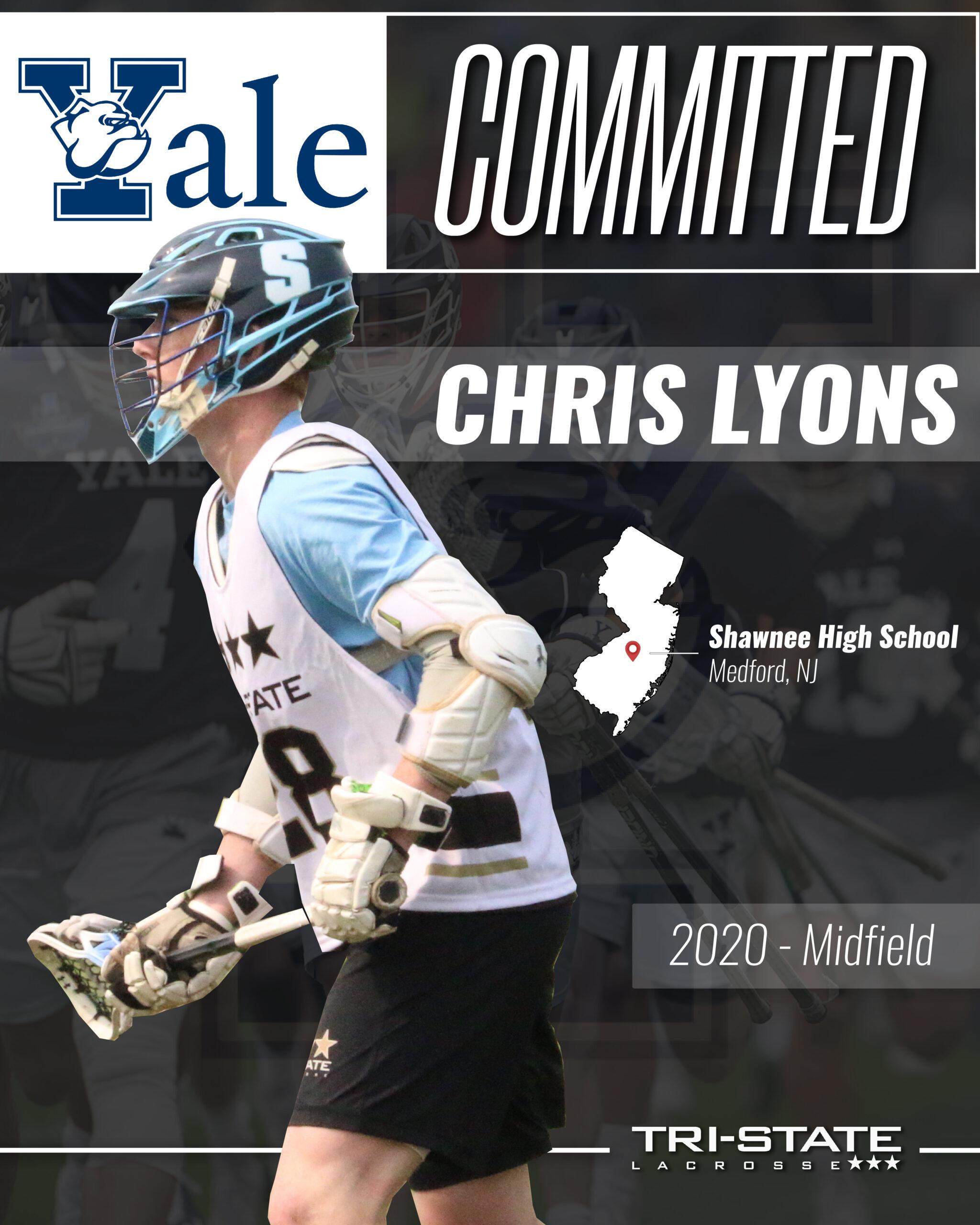 Chris Lyons, Shawnee - Yale