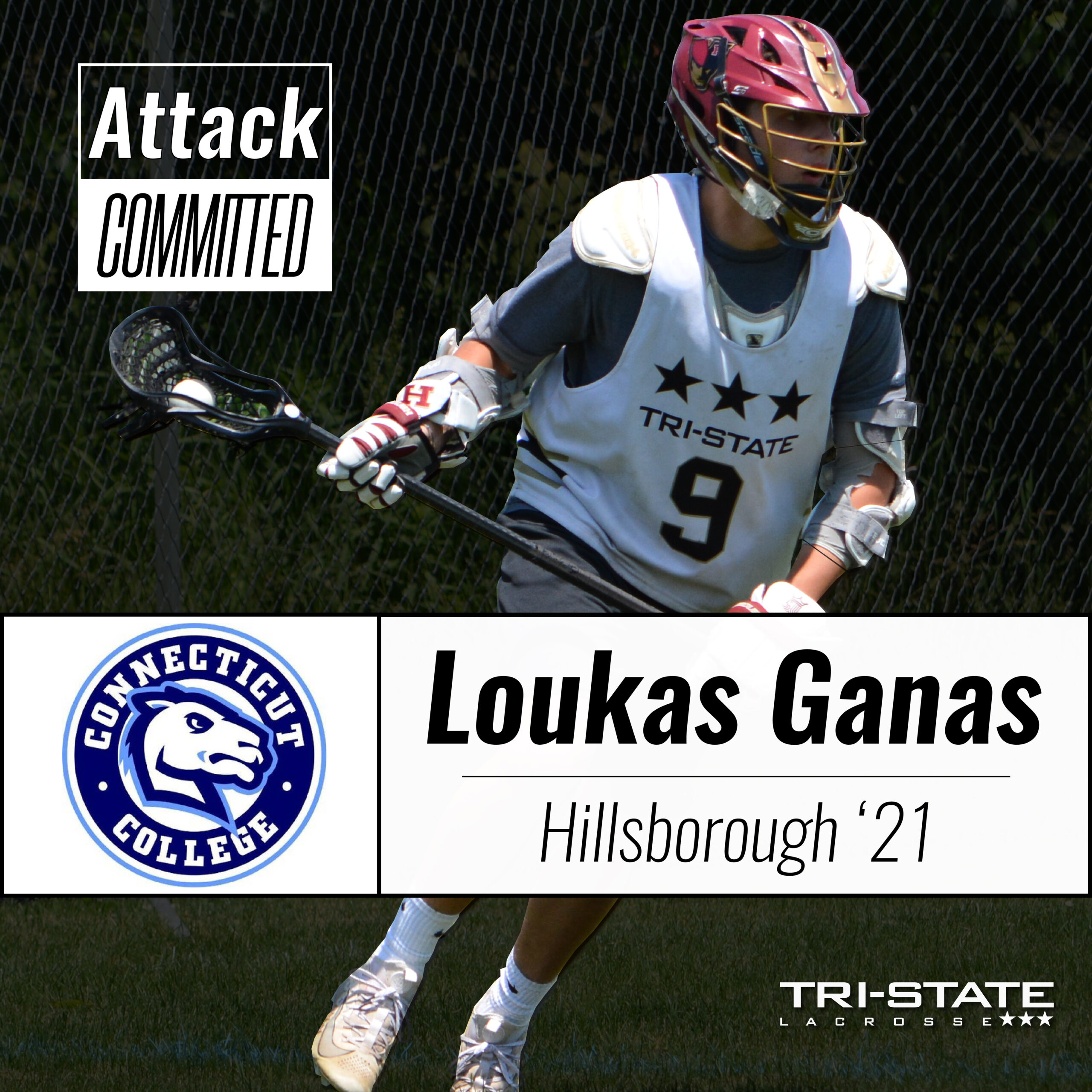 Loukas Ganas, Hillsborough - Connecticut