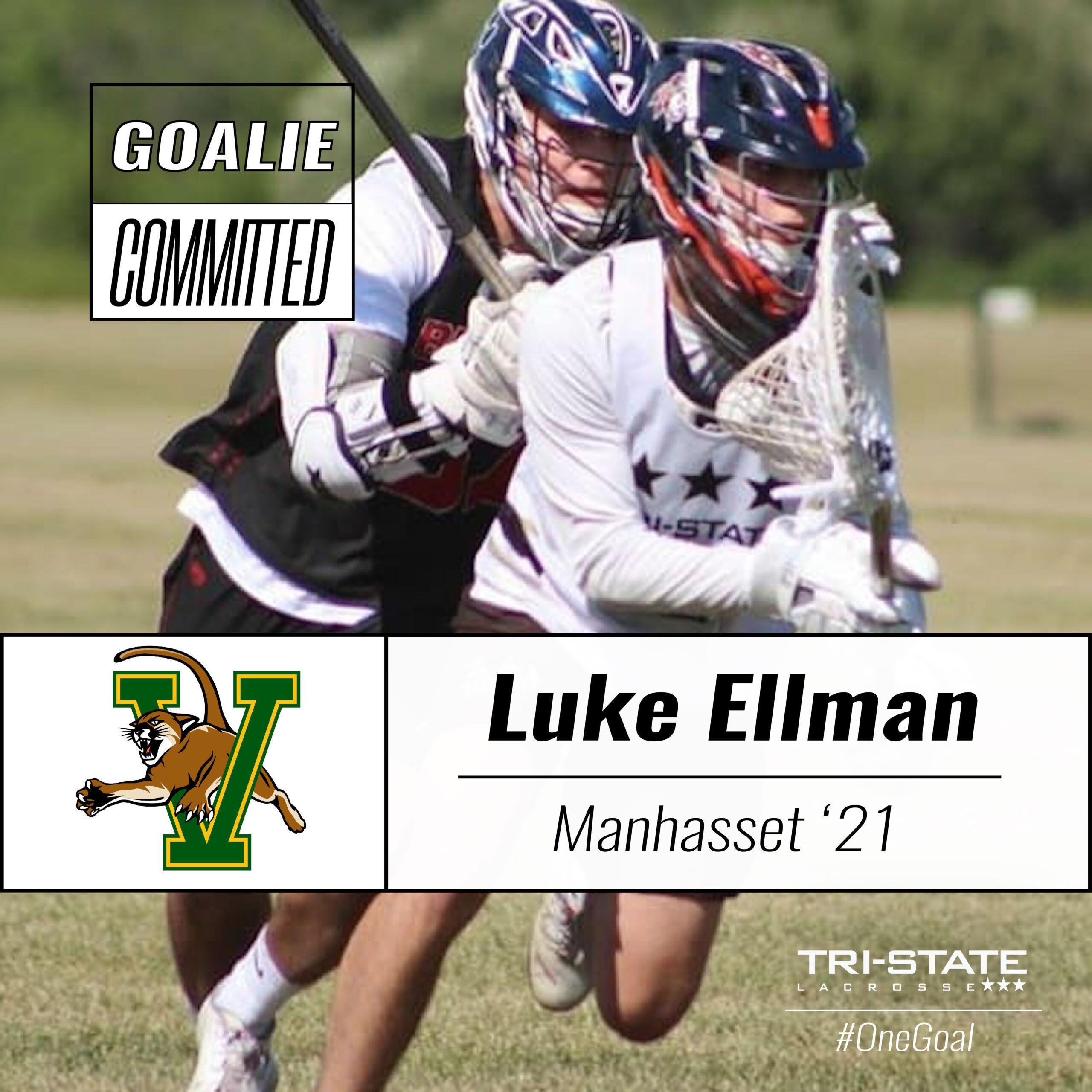 Luke Ellman, Manhasset - Vermont