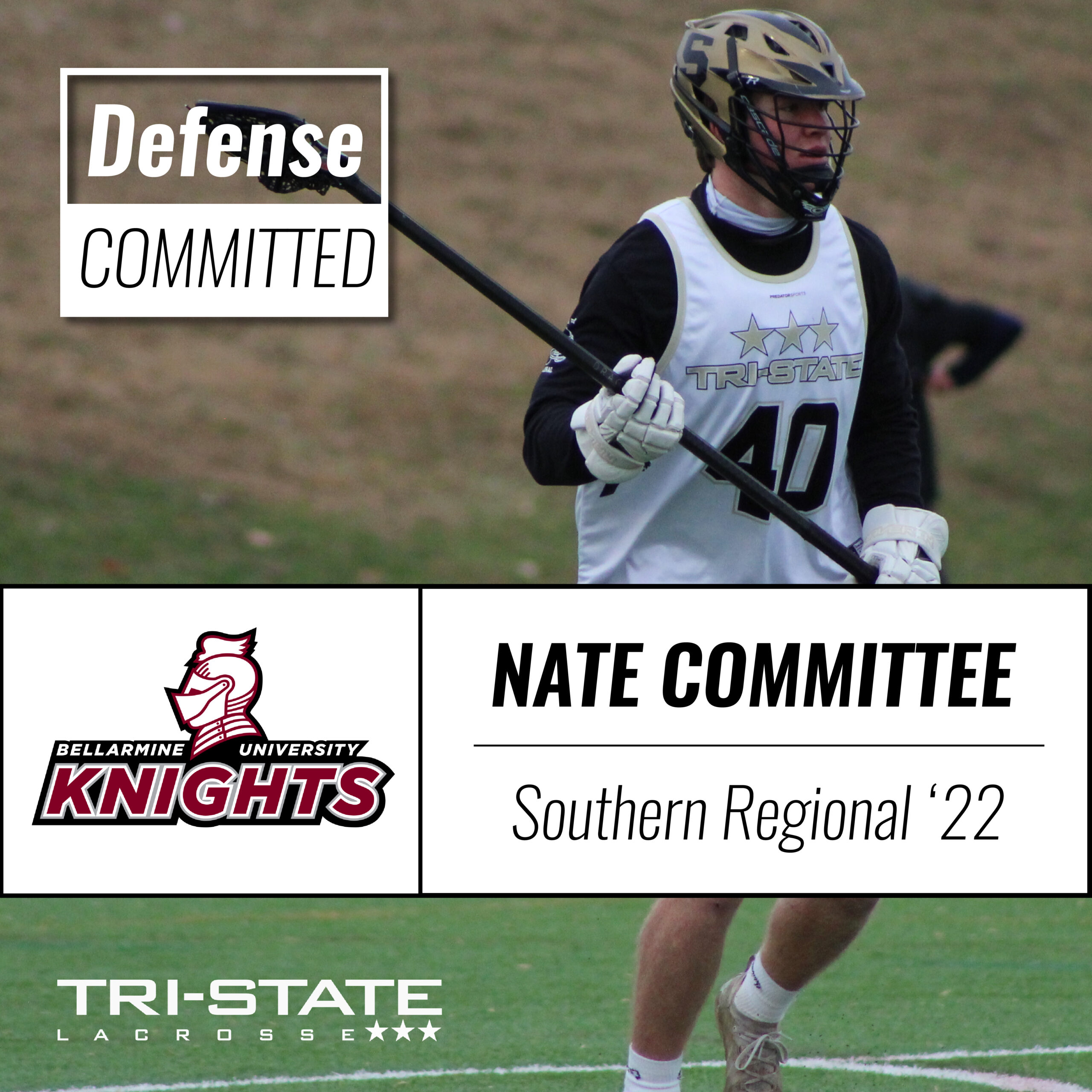 Nate Committee, Southern Regional High School New Jersey Lacrosse Commitment Bellarmine