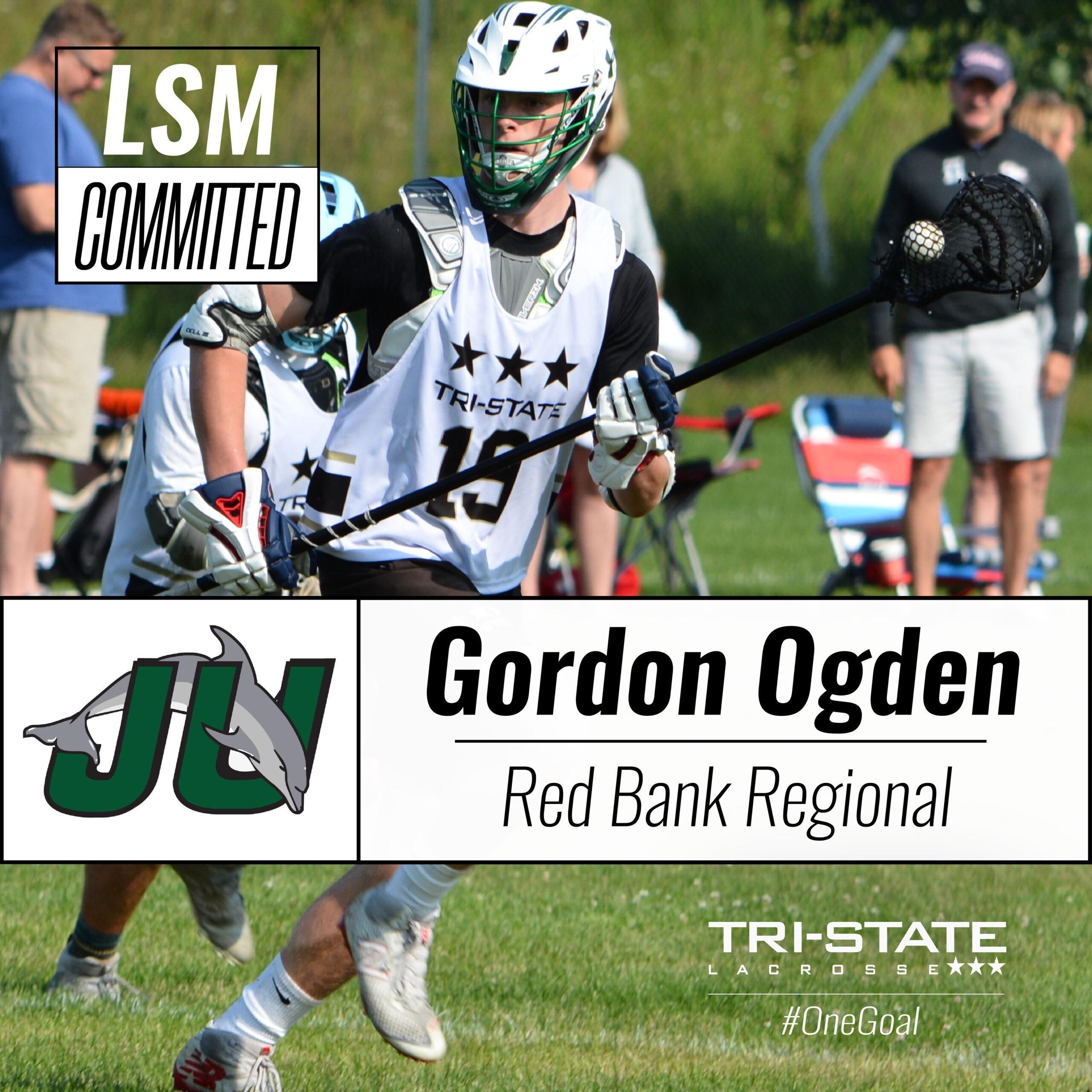 Gordon Ogden, Jacksonville Lacrosse, Red Bank Regional