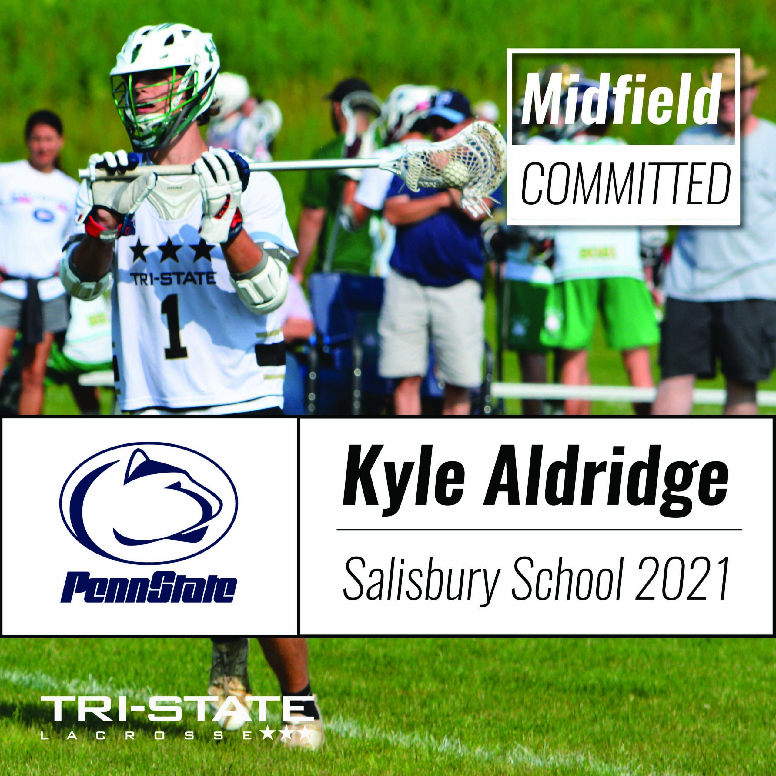 Kyle Aldridge Penn State Lacrosse Salisbury School